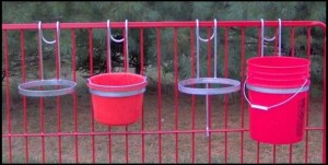 Bucket Holders & Buckets